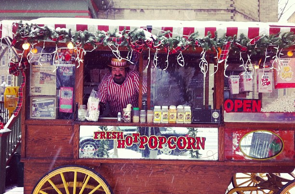 Jimmy The Popcorn Man